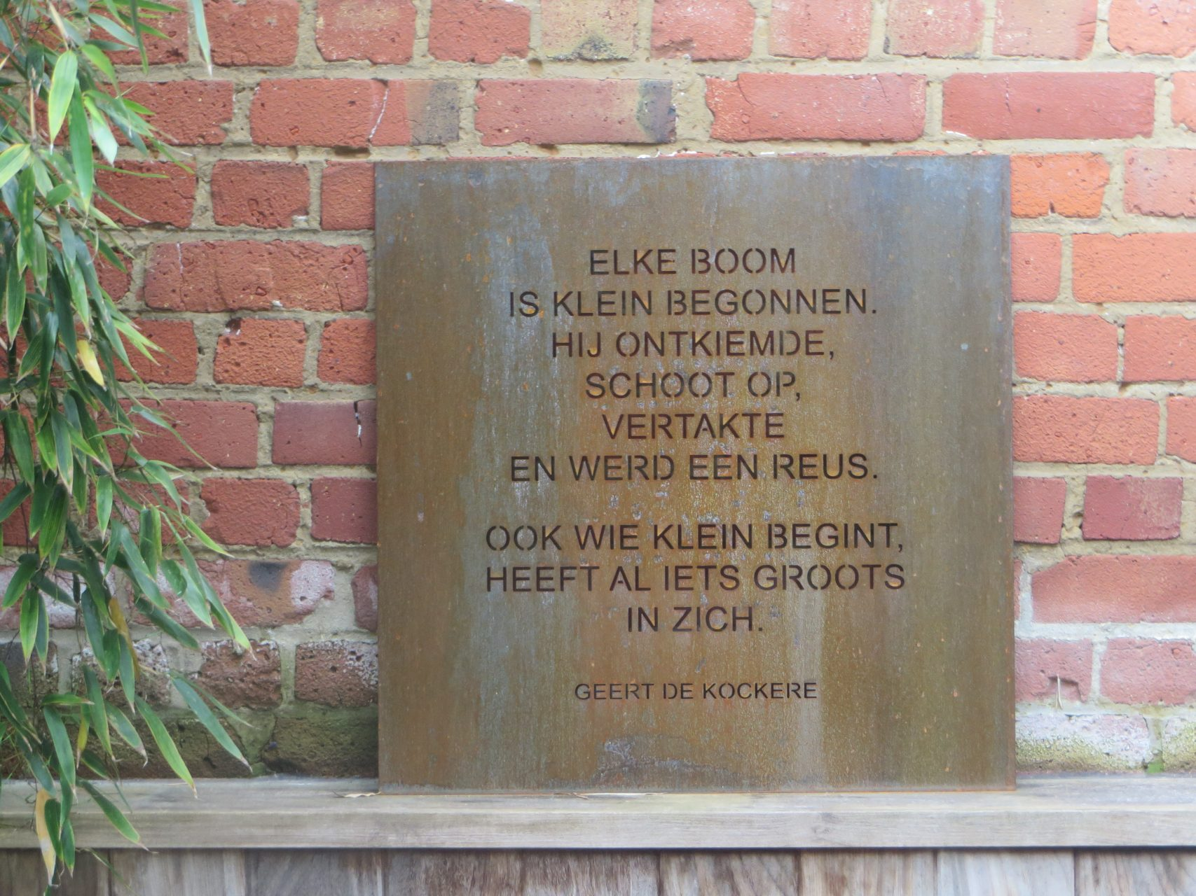 Staaltjes natuur I Litenatuurtje - Geert De Kockere